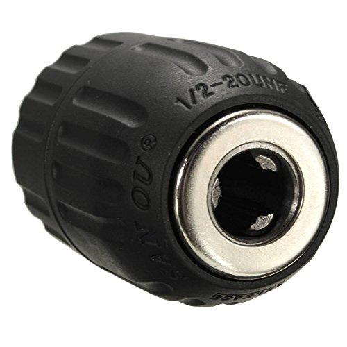 """Drillpro Schnellspannbohrfutter 2–13mm Bohrfutter Schnellspann mit 1/2"""" SDS Plus Adapter - 7"""