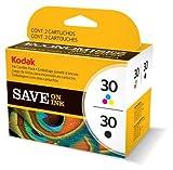 1 Multipack von Kodak für ESP C315 ( 2x Patronen, Color + Black) ESP C 315 Druckerpatronen, 275/335 Seit.