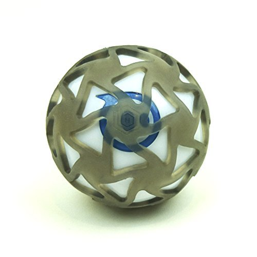 Sphero 2.0 & Sphero SPRK+ griffige Hexnub EXO Hülle & Cover – Zubehör Abdeckung & Schutzhülle für ferngesteuerten Spielzeug Roboter Ball – ideal für den Outdoor Einsatz – Schwarz