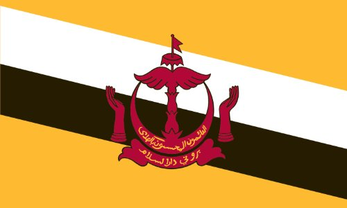 America's Flag Company Brunei Flagge, Nylon 2-Foot by 3-Foot