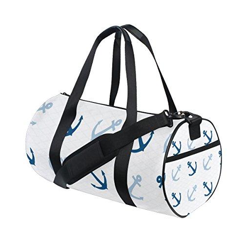 coosun Süßes Verankert Duffle Bag Schulter Handlich Sports Gym Bags für Männer und Frauen