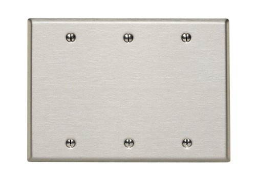 leviton-84033-40-3-gang-no-device-blank-wallplate-box-mount-stainless-steel-by-leviton