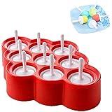 YFOX ijsstok ijshockeyvorm gemaakt van siliconen diy mini ijslollyvorm geschikt voor uw kind