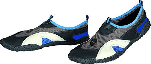 Seac - Scarpe da spiaggia, modello Haway Plus, da bambini Blu - blu/argento