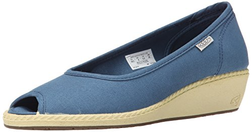 Keen Cortana Wedge Damen US 10 Blau Keilabsätze Sandale UK 7.5 EU 40.5