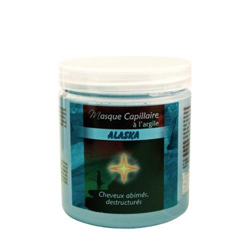 Aube Indienne masque capillaire alaska argile bleue - Pot 250 ml