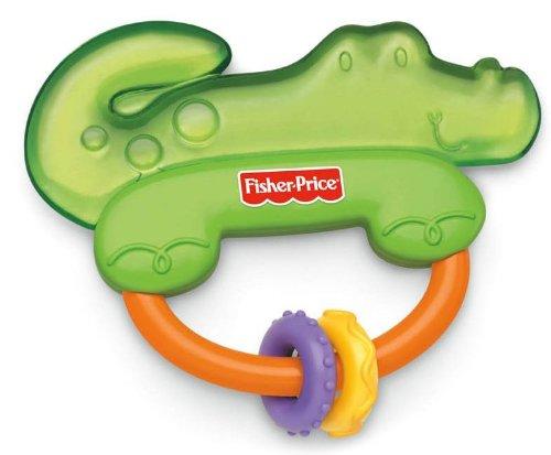 Fisher Price Beissring Kühlbeissring Beißring Krokodil - Massage und Kühlung