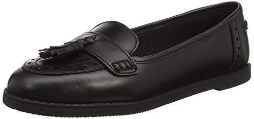 Leather Slipper, Schwarz Black, 37 EU ()