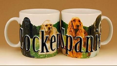 Americaware, My Pet Mug, Best Friend Series, Cocker Spaniel, Raised Lettering, 18 oz. by Americaware
