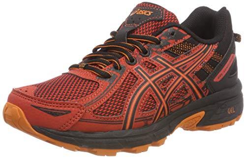 Asics Gel-Venture 6 GS, Zapatillas de Entrenamiento Unisex Niños, Rojo (Rust/Black 800), 34.5 EU
