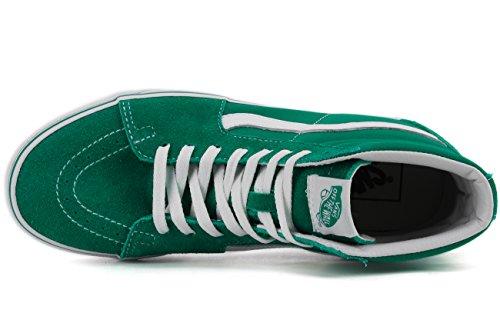 Vans Sk8-Hi Suede/Canvas Kids Ultramarine Green/True White Ultramarine