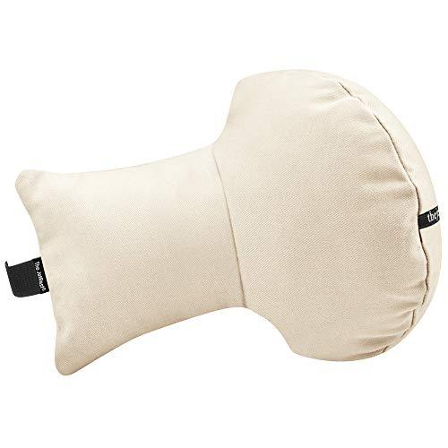 The JetRest, Unisex-Erwachsene Kissen Elfenbein Cotton Fabric - Natural 1 Stück -