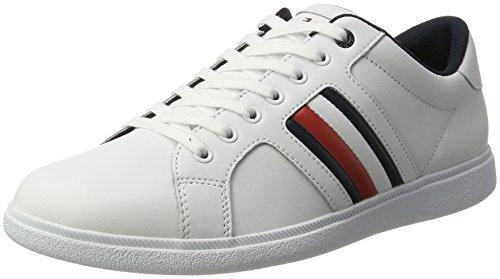 Tommy Hilfiger Men D2285anny 2a Sneaker Bianco (bianco)