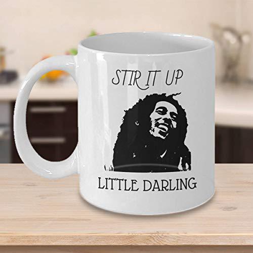 Claude6yhAly Bob Marley r¨¹hren es herauf Reggae Marley Bob Marley-Zitat-Jamaika-Becher Bob Marley-Becher Bob Marley-Kunst-Rasta-Geschenke Rasta karibische Kunst - Jamaika-geschenk-set
