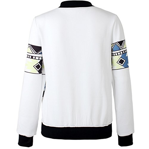 Thenice - Sweat-shirt spécial grossesse - À Rayures - Manches Longues - Femme Taille Unique Triangle