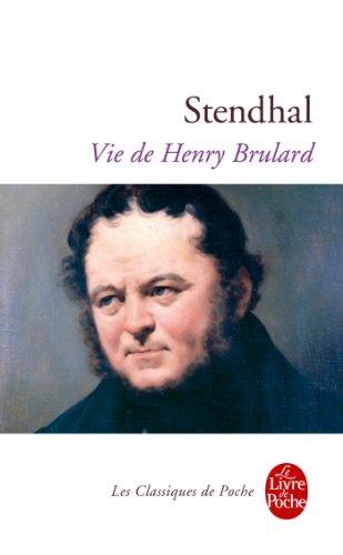 Vie de Henry Brulard par Stendhal