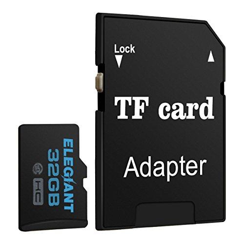 ELEGIANT 32 GB Micro TF Karte Speicherkarte Speicher Memory Card Class10 mit SDHC Adapter
