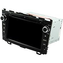 8Inch Quad Core 1024* 600Android 5.1coche reproductor de DVD GPS navegación Multimedia estéreo del coche para Honda CR-V 200620072008200920102011Radio Control de volante con 3G WIFI Bluetooth gratuito SD Mapa
