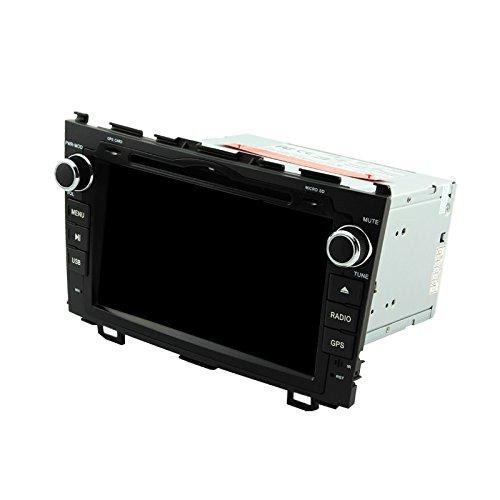 8 Zoll Quad Core 1024 * 600 Android 5.1 Auto DVD GPS Navigation Multimedia-Player Auto Stereo für Honda CR-V 2006 2007 2008 2009 2010 2011 Radio Lenkradsteuerungsübernahme mit 3 G Wifi Bluetooth gratis SD-Karte (Auto Stereo-crv)