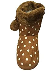 "Kii ""&"" Kaa Kids Winter Faux Fur Boot Ankel Length for Baby Girls & Boys."