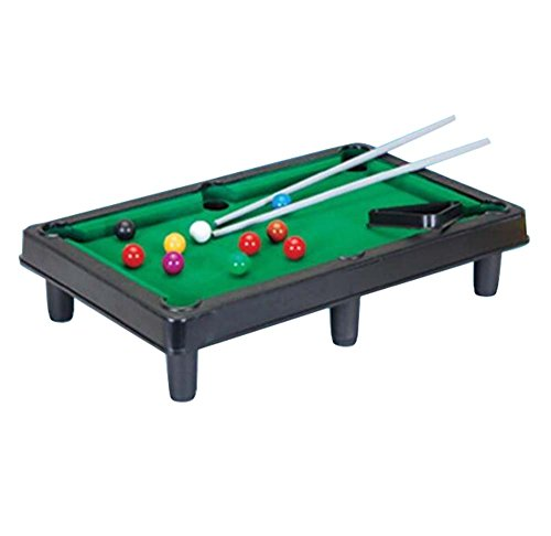 Mini Billard Kinder Puzzle Sport Unterhaltung Simulation Spielzeug-Zwei