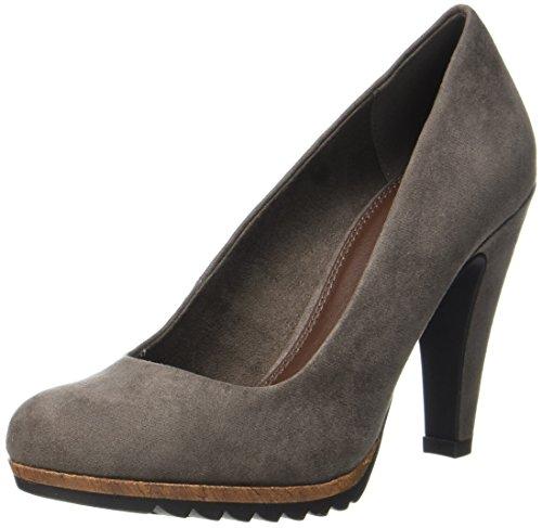 Marco Tozzi 22412, Zapatos de Tacón para Mujer, Marrón (Pepper Comb), 38 EU
