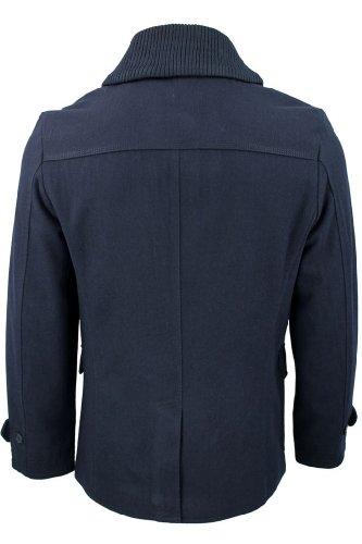 Manteau Hommes Veste en laine Melton Fashion 'Tehama' par Dissident Marine
