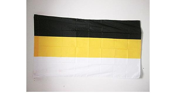 flaggen AZ FLAG TISCHFLAGGE Russisches KAISERREICH 1914-1917 21x14cm KAISERREICH Russland TISCHFAHNE 14 x 21 cm