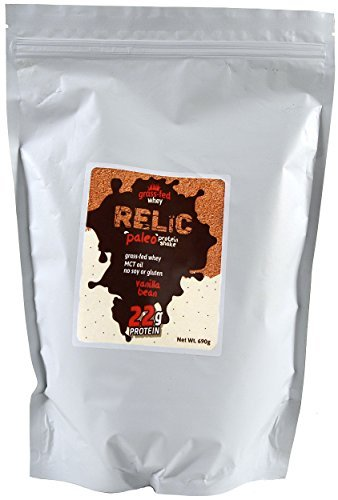relic-paleo-protein-shake-grass-fed-whey-vanilla-bean-flavor-15-servings-690g-by-relic-paleo