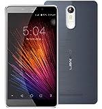 LEAGOO M8 - 5.7 pouces 2.5D IPS Corning Gorilla Verre 4 Phablet Android 6.0 smartphone Quad Core 1.3GHz 2Go RAM 16Go 8MP + 13MP Camera Fingerprint - Noir-Gris