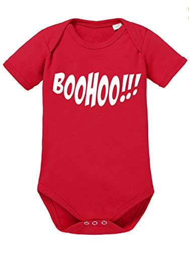 io Halloween Boohoo Rot/Weiß Größe 74-80 ()