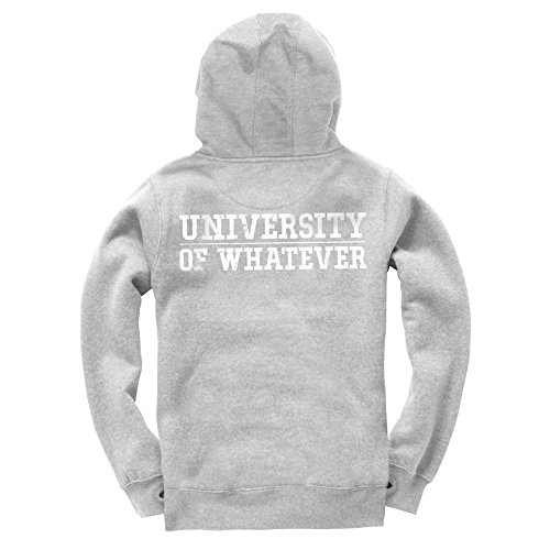 University of Whatever Premium Gilet avec Capuche unestablished Signature Grey