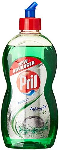 Pril Dish Washing Liquid - 500 ml (Lime) with Free Pril Dura Scrub worth Rs. 20/-