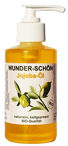 Jojobaöl 100% rein in Bio-Qualität 150 ml Spender