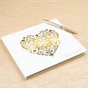 Hochzeits Gästebuch Romantik