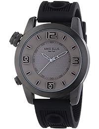Mike Ellis New York Herren-Armbanduhr XL an:e Analog Quarz Silikon SL4315/3