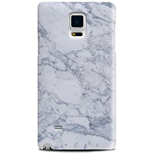 CASE U Realistic White Marble Pattern Designer Case for Samsung Galaxy Note 4