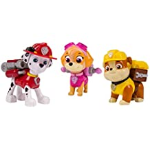 Paw Patrol – Action Pack Pup Set – Marshall, Rubble & Skye – 3 Figuras Acción La Patrulla Canina