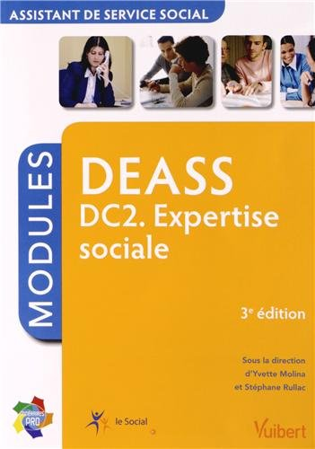 Formation DEASS - Assistant de service social - DC2 Expertise sociale - Itinéraires Pro - Modules
