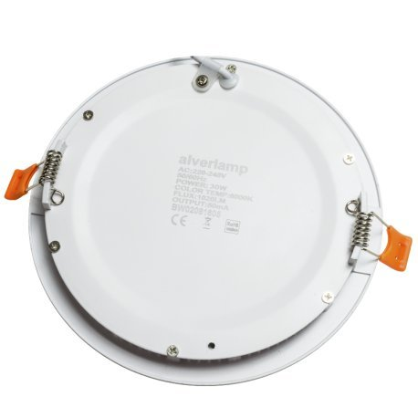 Alverlamp-DL30PL60-Downlight-LED-30W-6000K-empotrable-redondo-blanco-chip-Led-Osram
