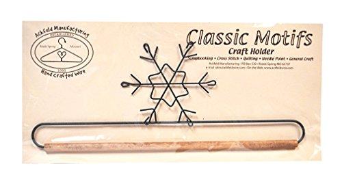 Stoff mit Dübel, Schneeflocke 30.48 - Scrapbook-nähmaschine
