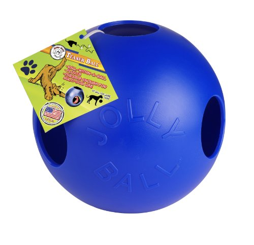 Artikelbild: Jolly Pets JOLL043B Hundespielzeug - Teaser Ball, 25 cm, blau