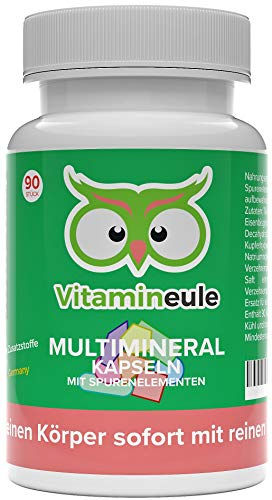 Multimineral-Kapseln - ohne Zusatzstoffe - Qualität aus Deutschland