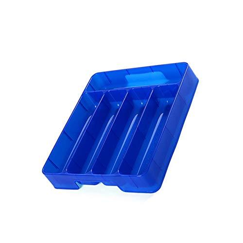 xianjun Küchenutensilien Schublade Organizer Aufbewahrungsbox Besteck 29X24,5X5 cm Tablett mit Teiler Geschirr Aufbewahrungsbox