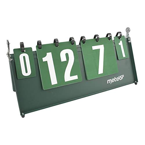 meteor Anzeigetafel Score Flipper Flip-Tisch Scoring Board Tragbare Durable multifunktionale Sport Spiele Volleyball Basketball Tischtennis (1-30 Punkte) (1-30 Points)