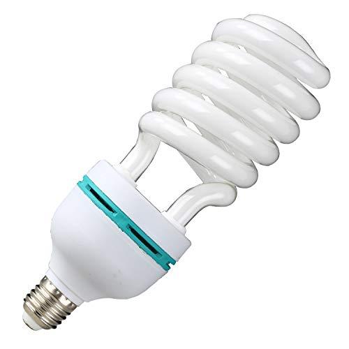 Three primary color energy saving lamp screw bayonet bulb yellow light white light energy saving light bulb 26W40W large half screw -85W E2 -