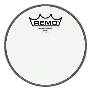 """Remo BA-0306-00 Ambassador Peau Transparente 6"""" Blanc"""