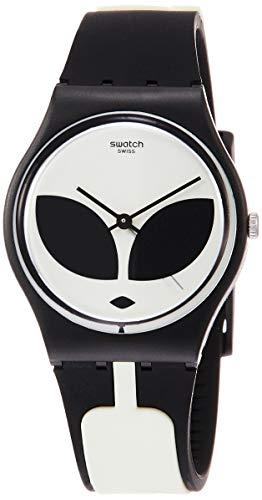 Swatch Reloj Analógico para Hombre de Cuarzo con Correa en Silicona GB307