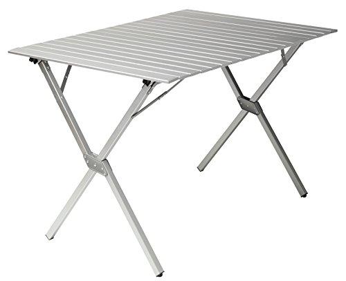 Gran Canyon Mesa familiar, mesa para camping plegable, aluminio, 112 x 80...