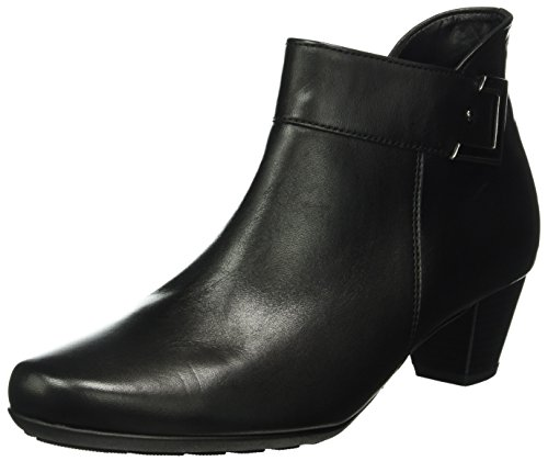 Gabor Shoes Comfort Sport, Stivaletti Donna, Nero (Schwarz Micro), 40.5 EU